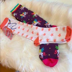 Accessories - Two pairs of unicorn socks 🦄